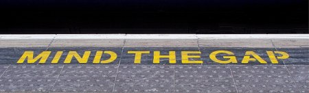 Mind the Gap on platform